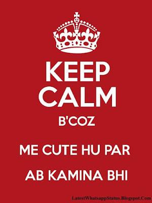 Mha telented Kamine Dost Status in Hindi