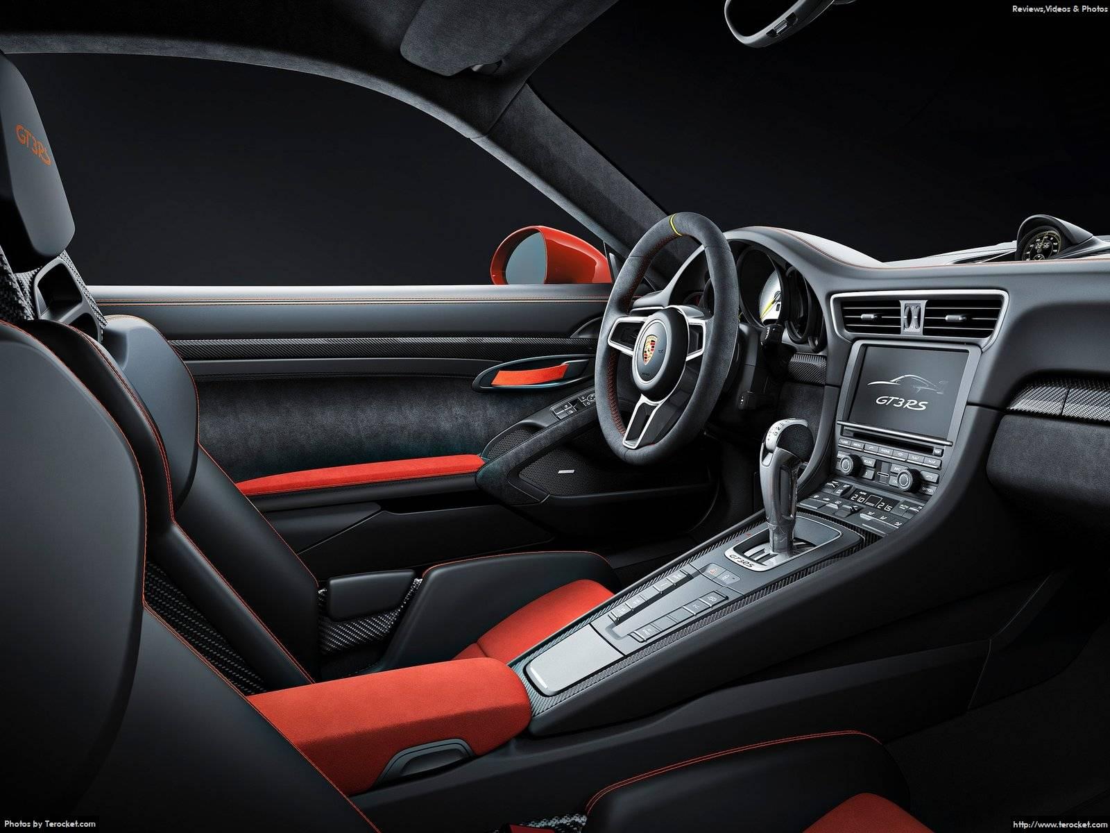 Hình ảnh xe ô tô Porsche 911 GT3 RS 2016 & nội ngoại thất