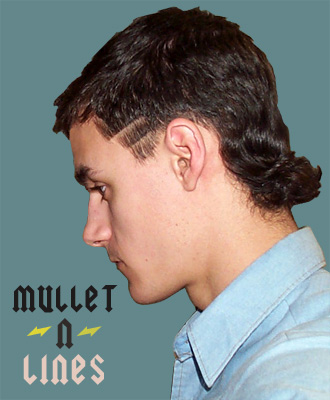 Anderson Marlon Mullet Hairstyles