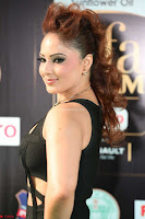 Nikesha Patel in Beautiful Figure Hugging Black Dress  at IIFA Utsavam Awards 2017  Day 2 at  12.JPG