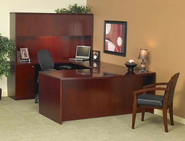 buy discount used wood office furniture Panama City FL for sale
