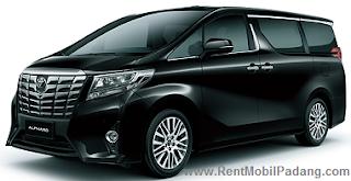 Sewa Mobil Mewah Padang Alphard