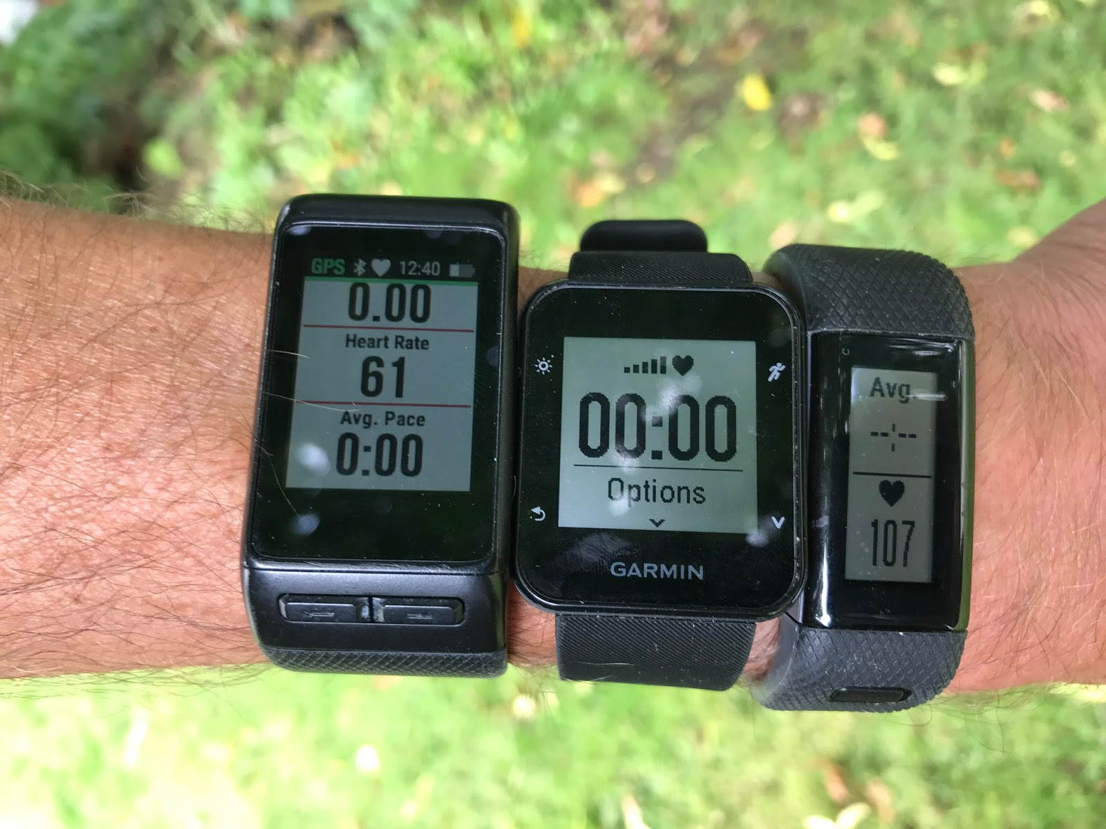 COMPARISON / GPS Watches, Heart Rate Monitors, Sport Watches