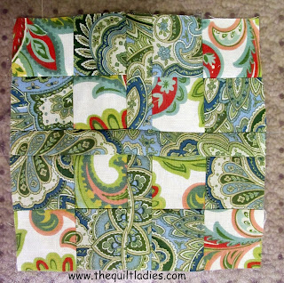 How to make a Small Throw Pillow Quilt Pattern