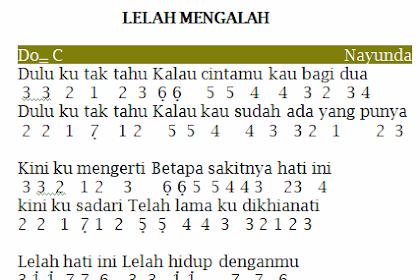 All Of The County Of Kings The Play Lelah Mengalah Chord