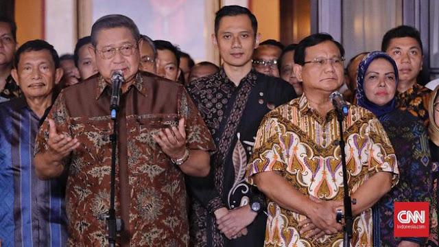SBY Minta Prabowo-Sandi Tak Buat Rakyat Bingung Saat Debat