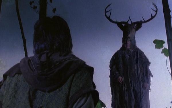 Robin of Sherwood meets Herne the Hunter, folk horror TV