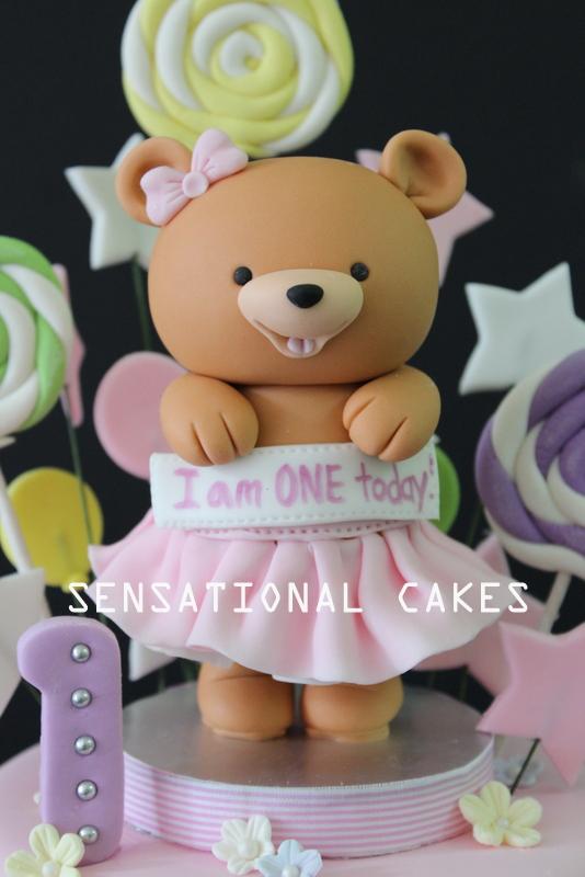 1st birthday 3d cakes