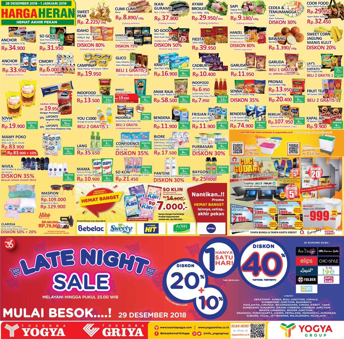 #Yogya - Promo Katalog Harga Heran Periode 28 - 01 Januari 2018