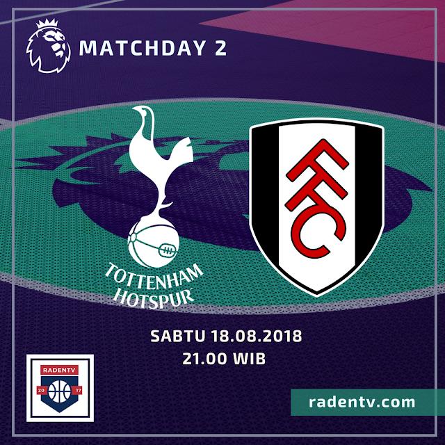 Streaming Tottenham Hotspur vs Fulham
