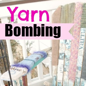 Amazing fun of yarn bombing..