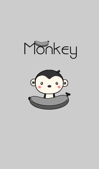 Monkey in Black