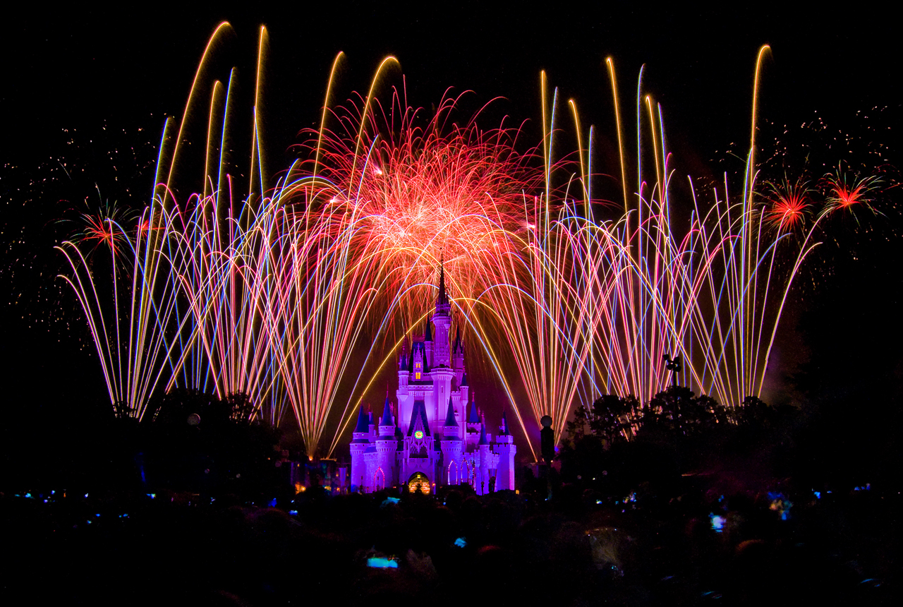 Where to watch the Walt Disney World fireworks from