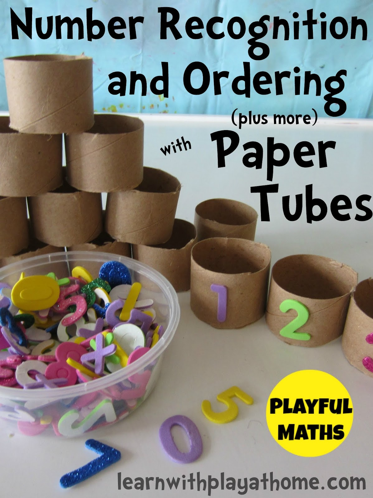 Learn with Play at Home: Number Recognition & Ordering ...