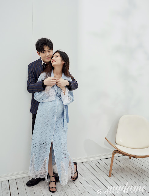 Fu Xin Bo Ying Er couple maternity photos
