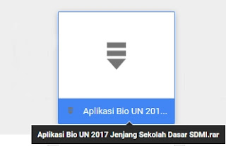 aplikasi bio un 2017 jenjang sd mi