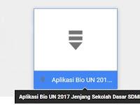 Aplikasi Bio UN 2017 SD/MI
