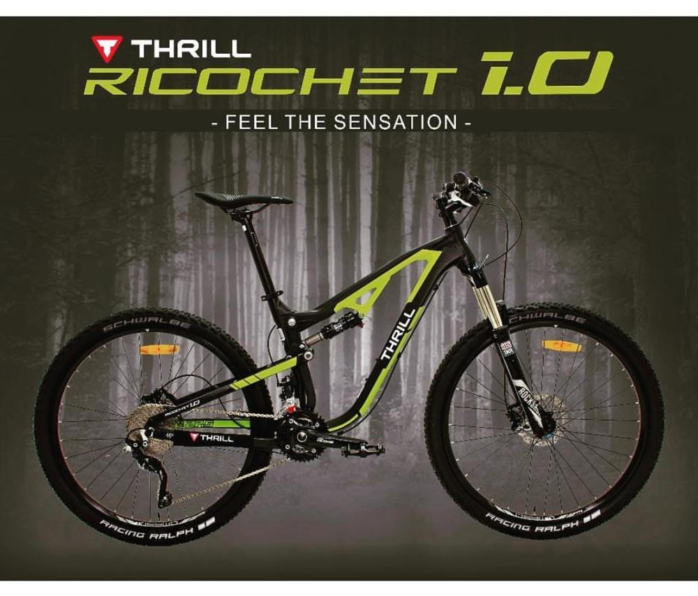 Thrill Ricochet 10 275inch Terbaru