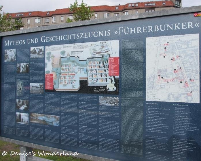 Führerbunker, Adolf Hitler suiside underground bunker