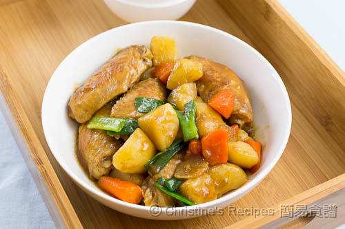 Braised Chicken Wings with Potatoes02