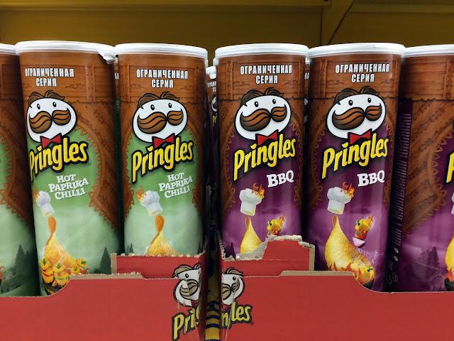 Новые Pringles «Hot Paprika Chilli» и «BBQ», Новые Pringles «Hot Paprika Chilli» и «BBQ» состав цена стоимость пищевая ценность, Новые Принглс со  вкусом острой чили паприки и барбекю