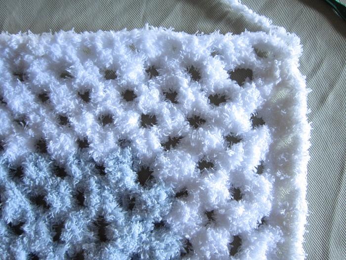 crochet, blanket, yarn, Bernat Pipsqueak