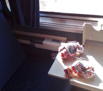Knitting and Crocheting on Amtrak