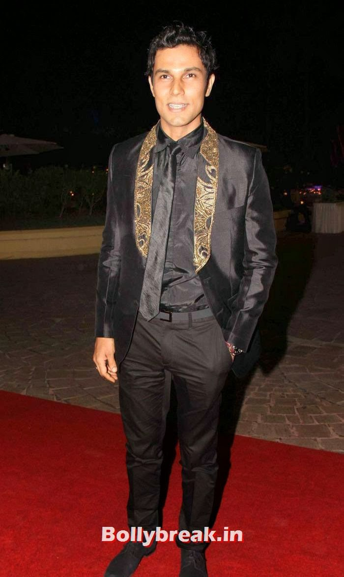 Randeep Hooda, Aamna Shariff & Amit Kapoor's Wedding Reception Pics
