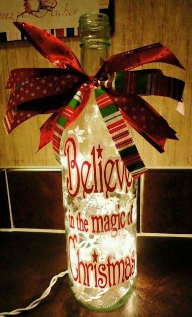 Botella De Decoraci Ef Bf Bdn De Navidad