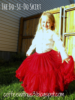 child red skirt