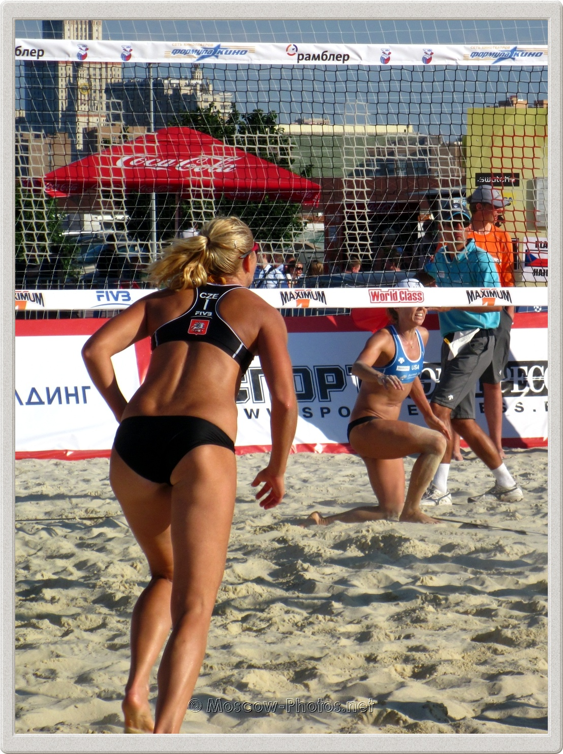 Beach Volleyball Player Hana Klapalova