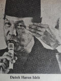 Image result for datuk harun idris