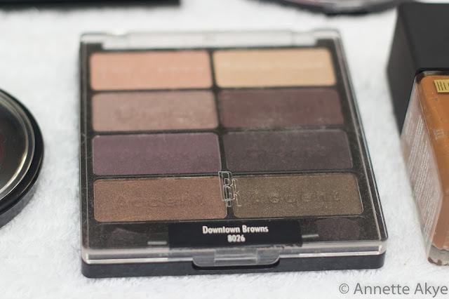 Black Radiance nude palette
