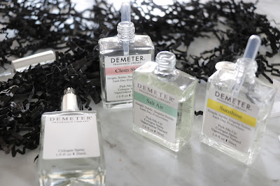 Demeter Custom Blending Trio review sunshine salt air clean skin