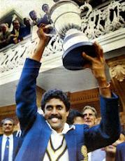 Cricket World Cup winners in 1983
