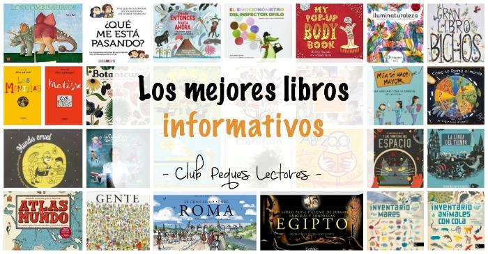 los mejores libros informativos para niños, libros conocimientos