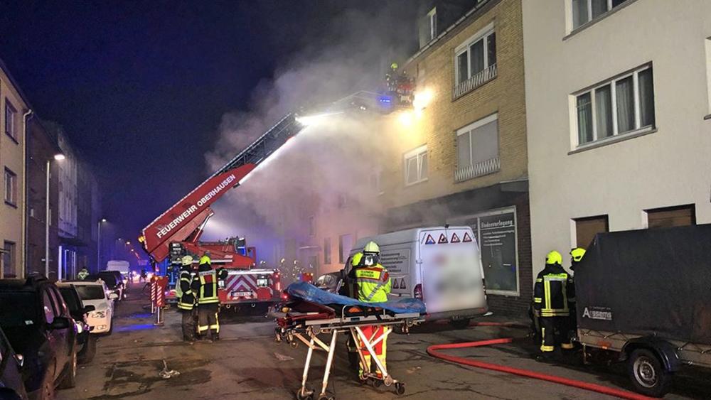 Brand In Oberhausen