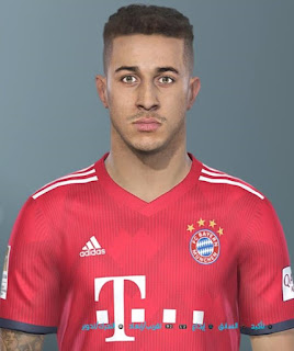 PES 2019 Faces Thiago Alcântara by Shenawy