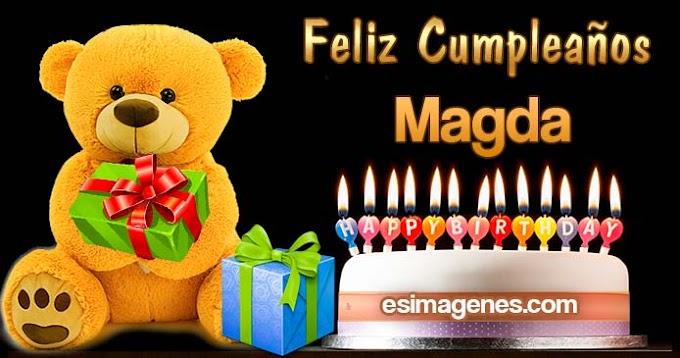 Feliz Cumpleaños Magda