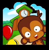لعبة Bloons Monkey City مهكرة