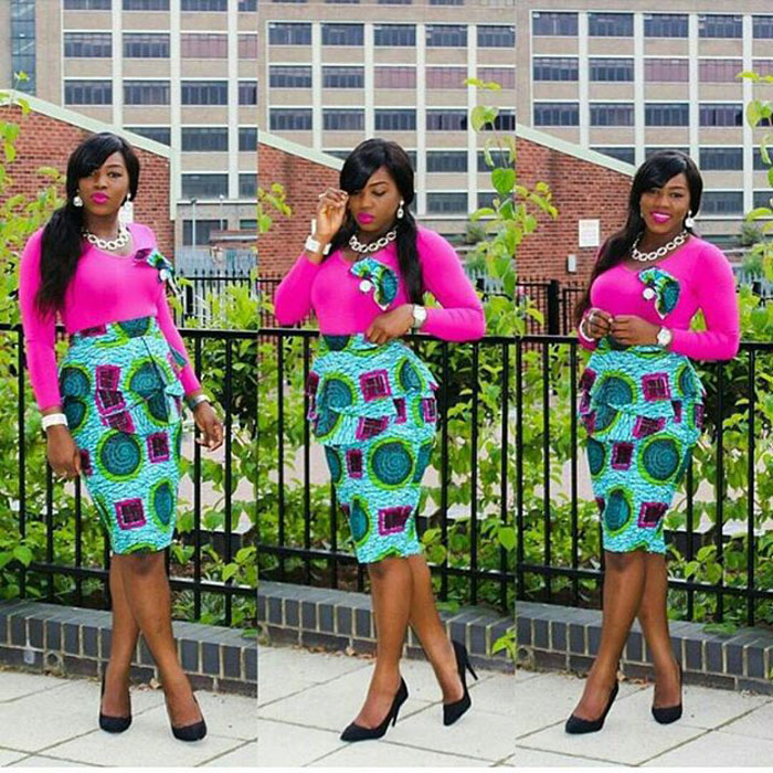 ankara skirts pictures (5)