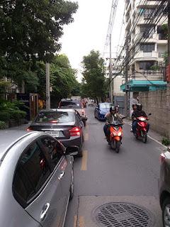 ソイ39の渋滞