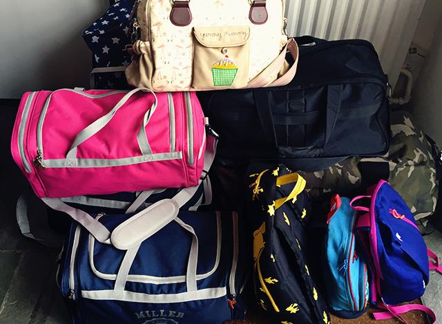 bagage vakantie Tenerife met kinderen