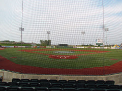 Home to center, All Pro Freight Stadium