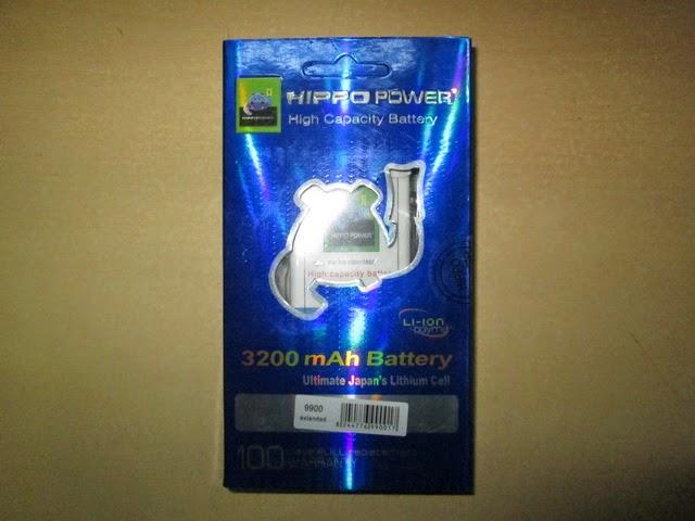 baterai BB 9900 Dakota double power
