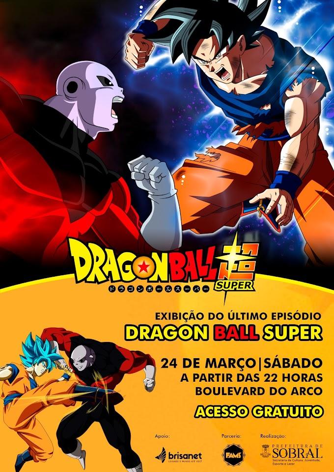 Último episódio de Dragon Ball Super será exibido no Boulevard do Arco