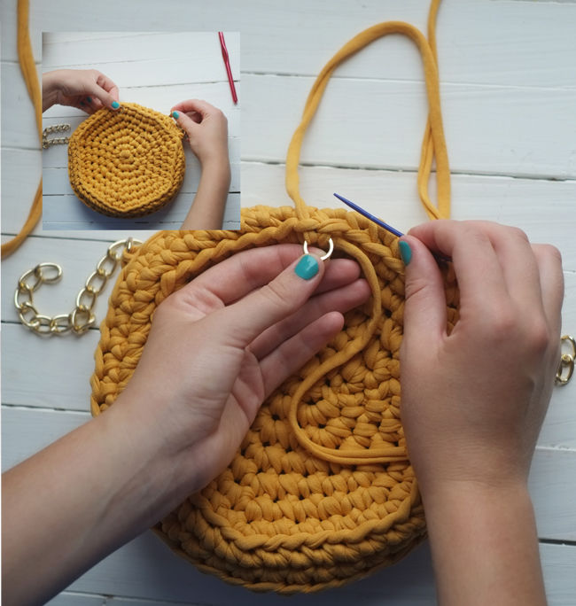 Crochet Handbag Tutorial