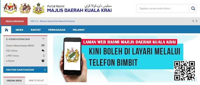 Rasmi - Jawatan Kosong (MDKK) Majlis Daerah Kuala Krai 2019