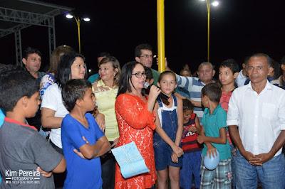 Prefeita Belezinha entrega Nova Praça Dom Pedro a População de Chapadinha