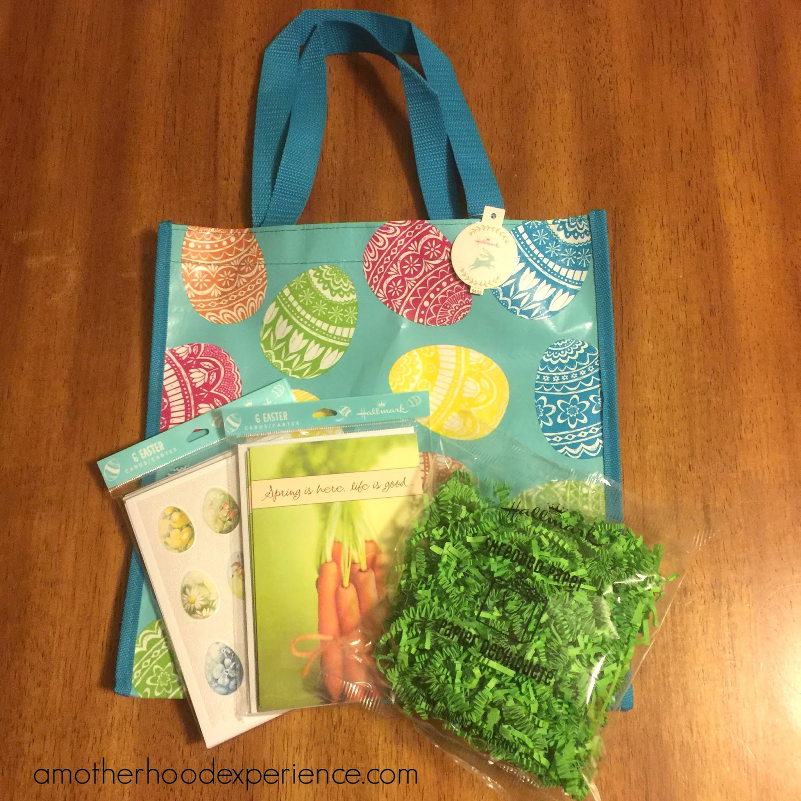 Spring has sprung with hallmark canada a motherhood experience lastly whats an easter gift without a nice greeting card and a handy tote bag to put it all in hallmark has a great selection for 495 and dont forget negle Images